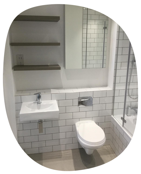 bathrooms and wetrooms